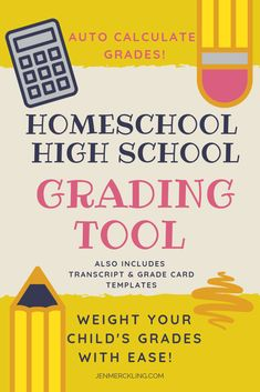Must-Have Grading Tool for Homeschooling High School! Homeschool High School, Homeschool Curriculum, Kindergarten Curriculum, High School Years, Public School, Learning Activities, Kids Learning, How To Start Homeschooling, Online Homeschooling