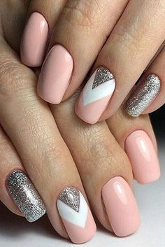 Manicure inspo Wwwtarinadgelmo… fb book an online party for free gifts The post 25 Elegant Nail Designs to Inspire Your Next Mani appeared first on Best Pins for Yours - Nail Art Nail Polish Trends, Nail Polish Colors, Nail Trends, Elegant Nail Designs, Nail Art Designs, Nails Design, White Nail Designs, Stylish Nails, Trendy Nails