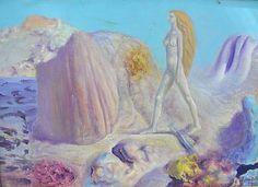 SABIN BĂLAȘA ( 1932-2008 ) Alegorie / Allegory Postmodernism, Painting, Feral Cats, Painting Art, Paintings, Post Modern History, Painted Canvas, Drawings, Postmodern Literature