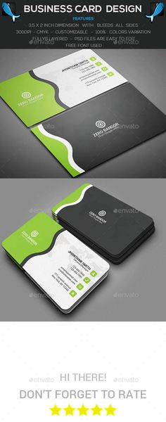 Corporate Business Card Template PSD #design Download: http://graphicriver.net/item/corporate-business-card/14313251?ref=ksioks