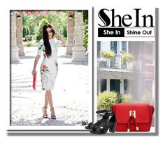 """""""Shein contest"""" by newoutfit ❤ liked on Polyvore featuring Thomsen Paris"""