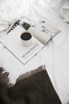 Coffee in bed with a book 2016