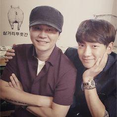 Rain, Big Bang, Lee Seung Gi, and more at YG Family CEO's new restaurant opening in Hongdae