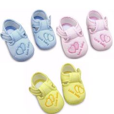 Baby Shoes Soft Sole Skid-proof First Walkers #cheekymonkey #babygirl