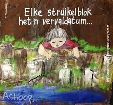 Elke struikelblok het 'n vervaldatum. __[AShooP-Tuinkuns/FB] #Afrikaans #Heartaches&Hardships Beautiful Quotes Inspirational, Afrikaans Language, Sympathy Quotes, Afrikaanse Quotes, Good Morning Flowers, Happy Woman Day, Birthday Pictures, 90th Birthday, Wedding Quotes