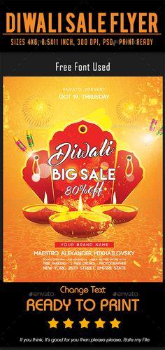 Diwali Sale Flyer - Events Flyers