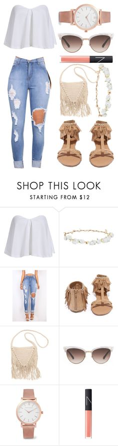 """Random :D"" by marvelfaith ❤ liked on Polyvore featuring Robert Rose, Qupid, Billabong, Gucci, Larsson & Jennings and NARS Cosmetics"