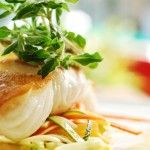 Get Fresh with a Wild Catch: Wild Alaskan Halibut with Shoestring Vegetables