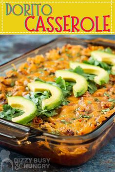 Easy Dorito Casserole layered with all your Mexican favorite ingredients is the perfect Cinco De Mayo dinner recipe