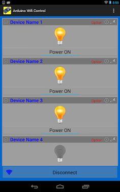 Android Arduino Control: Arduino WiFi Control with ESP8266 Module