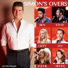 Simon Cowell chooses the final six to take through to his X Factor Judges House.