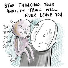 Anxiety Troll - Lunarbaboon