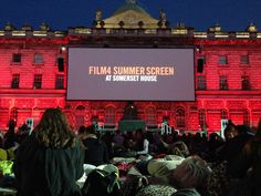 A new tradition is born! The Film4 Summer Screen at Somerset House is a pretty awesome setting to finally watch The Royal Tenenbaums.