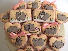 Pusheen cookies - dekoratornia ciastek