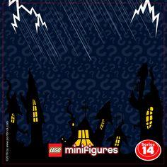 IKEA Ribba Hack - LEGO Minifigures Display Frame Plain Background - 71010 Serie 14 Halloween Monsters - Clicca sull'immagine per scaricarla gratuitamente!