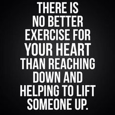 Lift one another up!