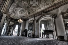 """Even when the house is supposedly empty, employees at Culbertson Mansion in New Albany have reported mysterious footsteps, slamming doors, moving objects, and an apparition of a grey-haired lady. """"We know something is here, but we have never confirmed it,"""" says former site manager Joellen Bye. Culbertson hosts several spooky activities for Halloween including the Ghostly Happenings Tour, Ghost Stories with the Queen of Halloween, an Overnight Sleepover, and Literally, a Haunted House."""