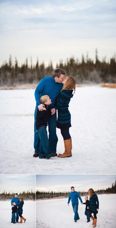 Fun family winter portrait session in Fairbanks, AK by Sophia Jordan Photography | Alaska & Destination Wedding & Portrait Photographer #snow #portraitsession #lifestyle