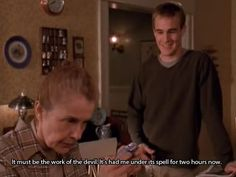 im watching Dawson's Creek and this made me think of Pinterest :p