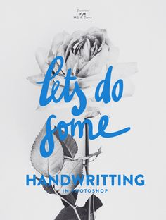 Let's do some handwriting - Cocorrina for Milk and Crown