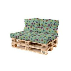 A pallet back cushion you've been searching for. Start preparing for a garden makeover that looks great and fresh-looking. Loft Gardenista back cushions are to die for. With fine detailed tufted stitching and high quality fabric, we Coin Palette, Table Palette, Outdoor Pallet Seating, Garden Seating, Pallet Furniture Cushions, Decoration Palette, Garden Makeover, Pallets Garden, Sit Back