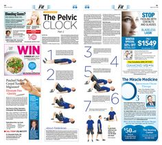 Lessons From Feldenkrais, Part 1: The Pelvic Clock|Epoch Times #Health #newspaper #editorialdesign