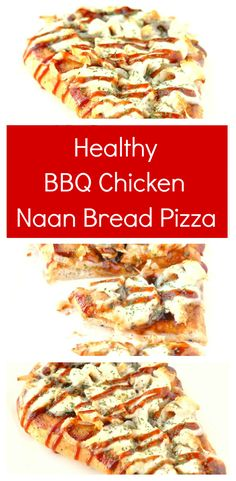 Reall about naan pizza recipes. Recipes With Naan Bread, Healthy Bread Recipes, Healthy Pizza, Pizza Recipes, Healthy Dinner Recipes, Chicken Recipes, Healthy Eating, Tasty Meals, Meat Recipes