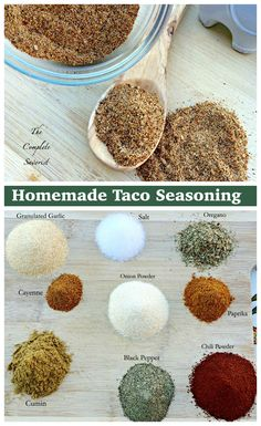 Homemade Taco Seasoning ~ The Complete Savorist