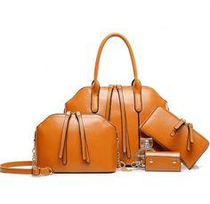 2016 Hot Newest Wax Oiled Genuine Leather Women Handbag Shoulder Crossbody Bag  For Ladies Handbag+Messenger Bag+Purse+Wallet Briefcase Leather Backpack  From ... c37d8183c2b59