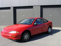 1998 Cavalier. Ours was a Z22, same color red