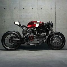 Ways to Utilize Best Idea Modification Motorcycles Custom Candy apple and Cream Ducati render from Looks so good you could eat it. Ducati Cafe Racer, Cafe Bike, Cafe Racer Bikes, Cafe Racer Motorcycle, Motorcycle Design, Ducati 749, Moto Scrambler, Moto Bike, Retro Bikes