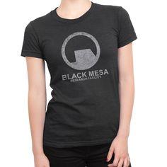 Half-Life Black Mesa Girls Gamer t-shirt! #geek #half-life
