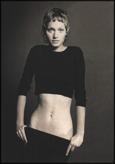 Amber Valetta. 1990's. I wanted that hair.