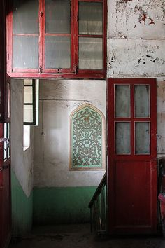 Entrance to Kashgar tea house, Xinjiang, China, by redbeanicy