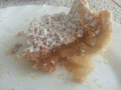 Y de postre hubo... un riquísima tarta de manzana. Ya tenemos merienda!!!