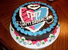 monster high birthday party ideas   This Monster High birthday cake is originally from ...   Party Ideas