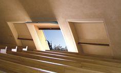 Large-Size Window Frames #architecture #renzopiano #puglia #aulaliturgica #padrepio #windows