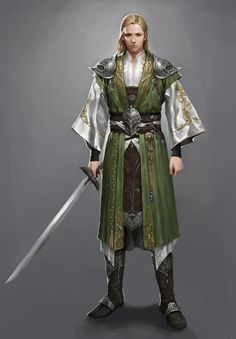 ArtStation - Elf Knight, Jiyeon Ryu