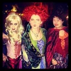 hocus pocus - DIY Halloween costume | @Jess Pearl Liu Tomson @Allison j.d.m j.d.m Rabel