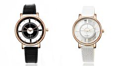 Karol Faux Leather-Strap Watches Stay on-schedule with one of these Karol Faux Leather-Strap Watches      Choose from Black or White      Comfortable artificial leather strap      Metal coated dial with scratch resistant glass      Diameter of dial is 4cm      Strap length 22.9cm      Strap width 2cm      An ideal gift for men or women      Buy one of each for a 'his and hers' combo      Save...