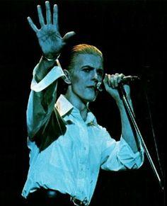 Bowie The Thin White Duke