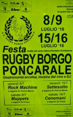 Festa Rugby Borgo Poncarale http://www.panesalamina.com/2016/49438-festa-rugby-borgo-poncarale.html