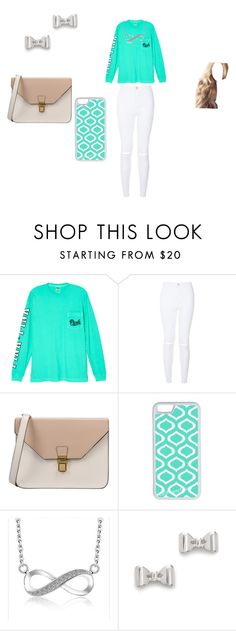 """""""Untitled #32"""" by allisonshaylyn ❤ liked on Polyvore featuring Victoria's Secret, New Look, 8, CellPowerCases and Marc by Marc Jacobs"""