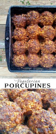 Vegetarian Porcupines