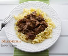 Madeira Beef Stew | Carrie's Experimental Kitchen #beef #stew #slowcooker