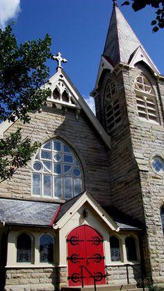 Church near the square - Medina, OH -  Christine B. © 2012
