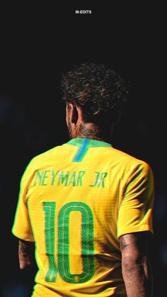 The one and only, Neymar JR. Brazil Football Team, Neymar Football, Best Football Players, Soccer Players, Cr7 Messi, Cr7 Ronaldo, Lionel Messi, Steven Gerrard, Premier League