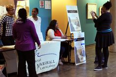 This photo shows our information table at the 5th Annual Home for Good Reentry Forum.