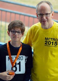 Athletics Open 2015 - Medal Winner - Photographer Christopher Minn