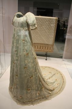 Gorgeous Regency evening gown